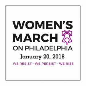 Women's March on Philadelphia @ Meet at member home in Narberth before the March