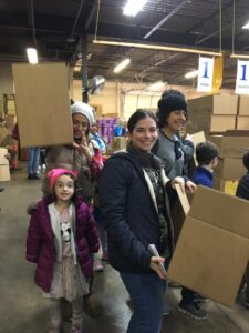 Pack and Deliver Food for Jewish Relief Agency @ Jewish Relief Agency Warehouse